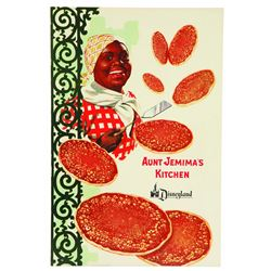 Aunt Jemima's Kitchen Souvenir Menu