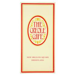 Creole Café Menu (gloss finish)