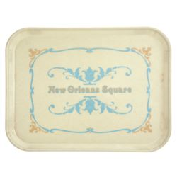 New Orleans Square Food Service Tray