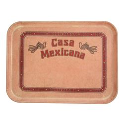 Casa Mexicana food service tray
