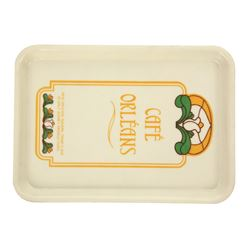 Café Orleans Tip Tray with Wax Cup