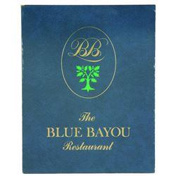 Blue Bayou menu