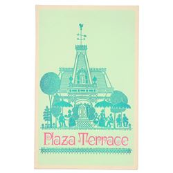 Plaza Terrace Menu