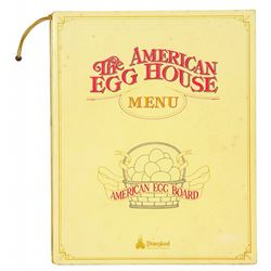 The American Egg House Menu