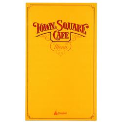 Town Square Cafe Menu (Breakfast)