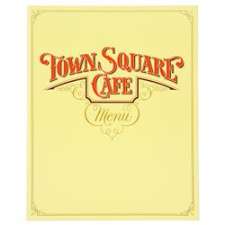 Town Square Cafe Menu