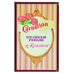 Carnation Ice Cream Parlor menu (lunch and dinner)