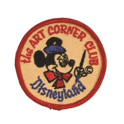 Art Corner Disneyland Mickey Mouse Patch