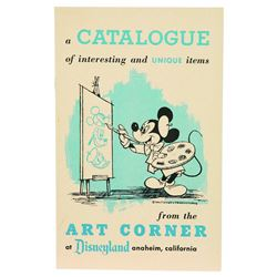 Disneyland Art Corner Catalog