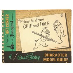 Walt Disney How to Draw Chip and Dale  Art Corner Book.