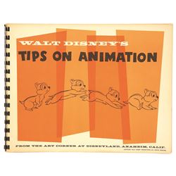 Walt Disney's Tips on Animation Art Corner Book.