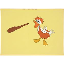 Original Production Cel of Donald Duck