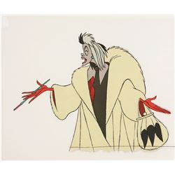 "Original Production Cel of Cruella de Vil from ""101 Dalmatians"""