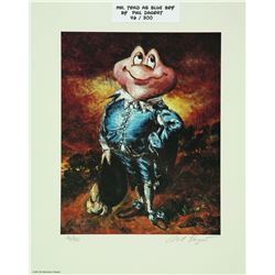 "Pair of Mr. Toad ""Blueboy"" and ""Pinky"" Lithographs"