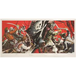 Imagineers signed  Pirates of the Caribbean Limited Edition Print