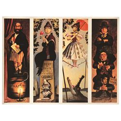 Marc Davis Signed Haunted Mansion Stretching Portraits LIMITED EDITION HAND-SIGNED LITHOGRAPH