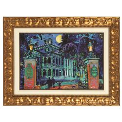 Eric Robison Tribute to The Haunted Mansion Original Painting.