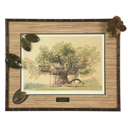 Special Presentation Swiss Family Treehouse Lithograph