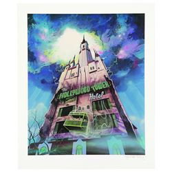 Limited Edition Tower Of Terror Lithograph