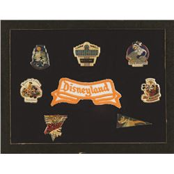 Special Presentation Disneyland  Pin set with patch