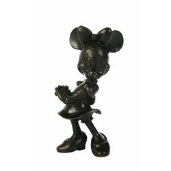 Limited Edition Bronze Minnie Mouse by Blaine Gibson, very good condition, edition number # 27/200,