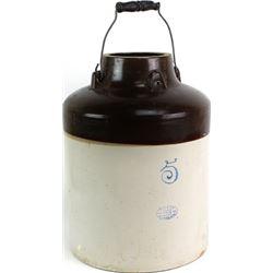 5 gallon Red Wing applesauce jar