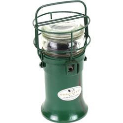 "Homestake signal lantern 10"" tall."