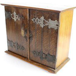 Arts and Crafts double door cabinet