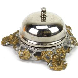 Antique hotel counter bell