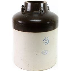 Five gallon Red Wing stoneware jar