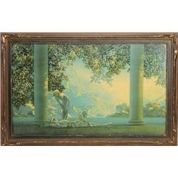 Original Maxwell Parish framed print