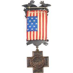 Original Spanish War veterans medal
