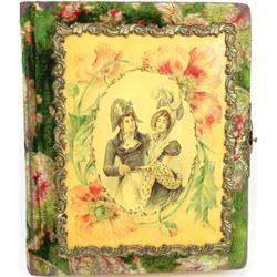 Victorian celluloid photo album