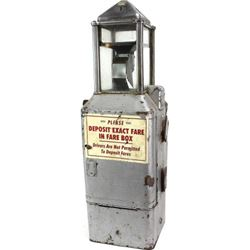 Early token or fare box from old Lead-Deadwood