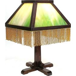 Original Mission Arts and Crafts table lamp