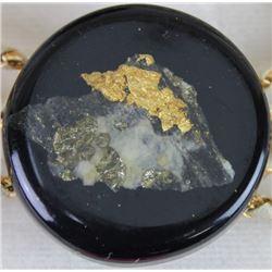 Vintage Black Hills Gold bolo tie