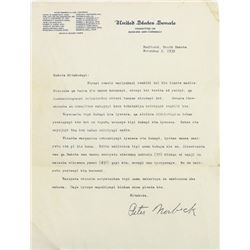 Interesting 1932 letter from early South Dakota
