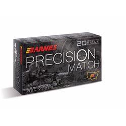 Barnes Precision Match Ammo 5.56x45mm NATO 85 Gr OTM