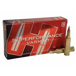 Hornady Superformance Varmint Ammo 243 Win 58 Gr V-Max