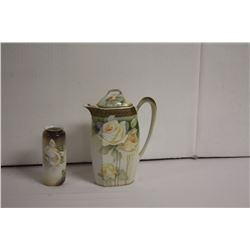 R.S. Germany Coffee pot & vase
