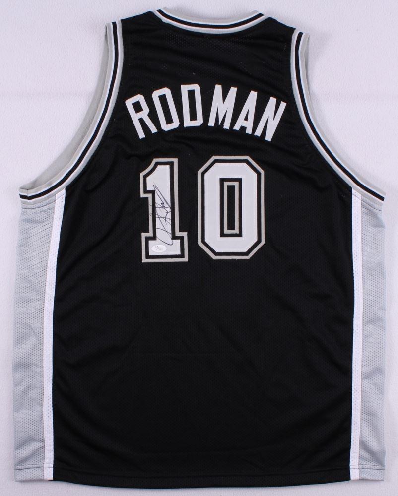 0ff0f34a4d1 Image 1   Dennis Rodman Signed Spurs Jersey (JSA COA) ...