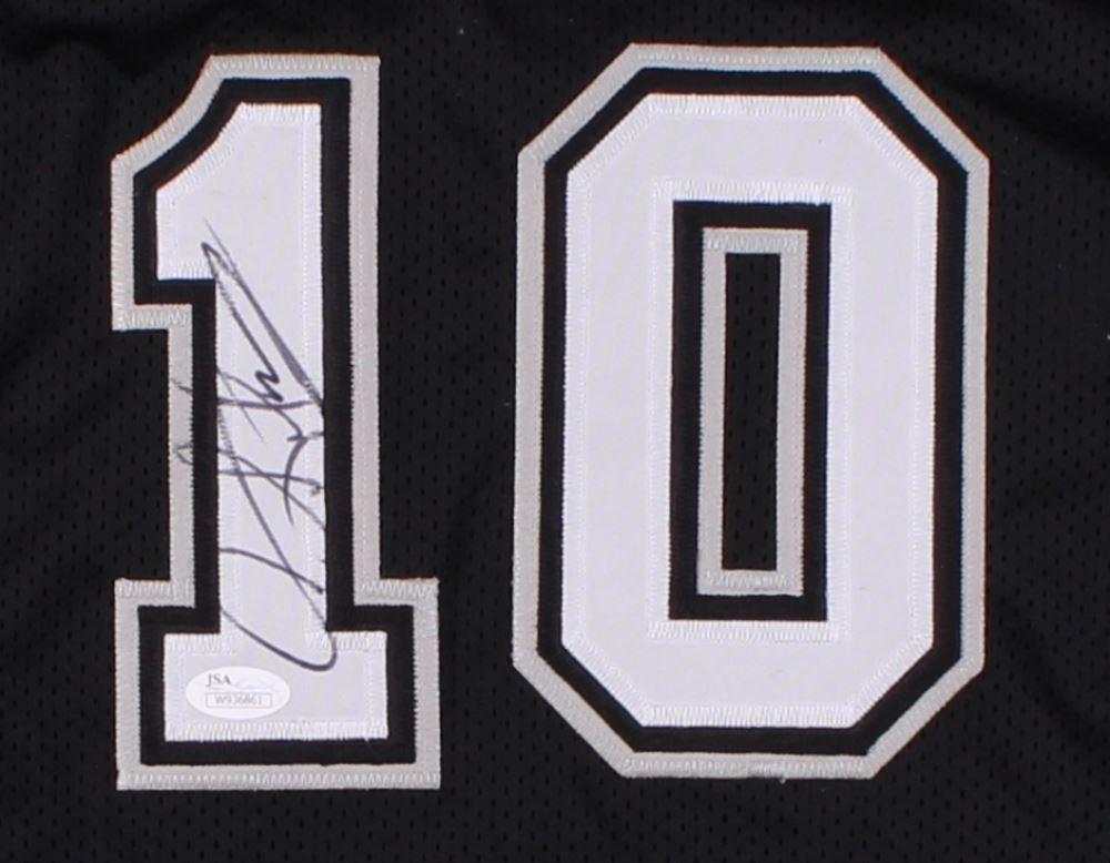 842f4025d7d ... Image 2   Dennis Rodman Signed Spurs Jersey (JSA COA) ...