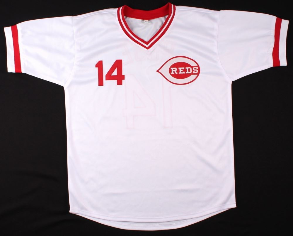 2b4b52cdd ... Image 3   Pete Rose Signed Reds Jersey Inscribed