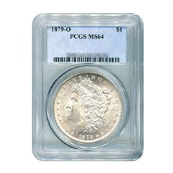 1879-O $1 Morgan Silver Dollar - PCGS MS64