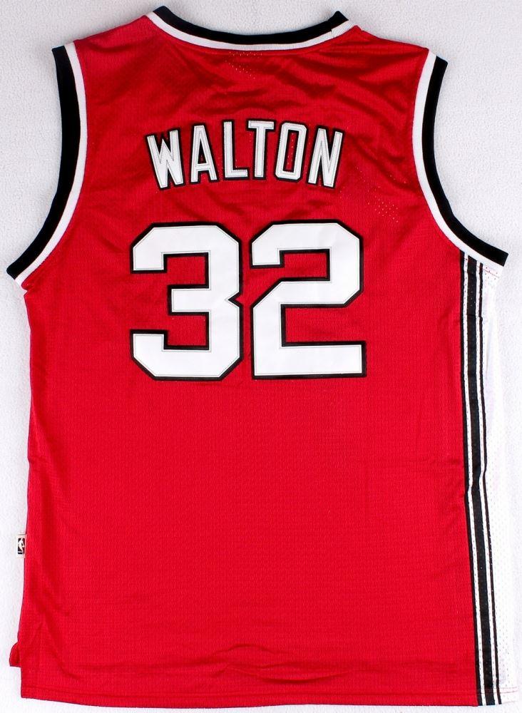 pretty nice 926c5 5effa Bill Walton Signed Throwback Blazers Jersey Inscribed