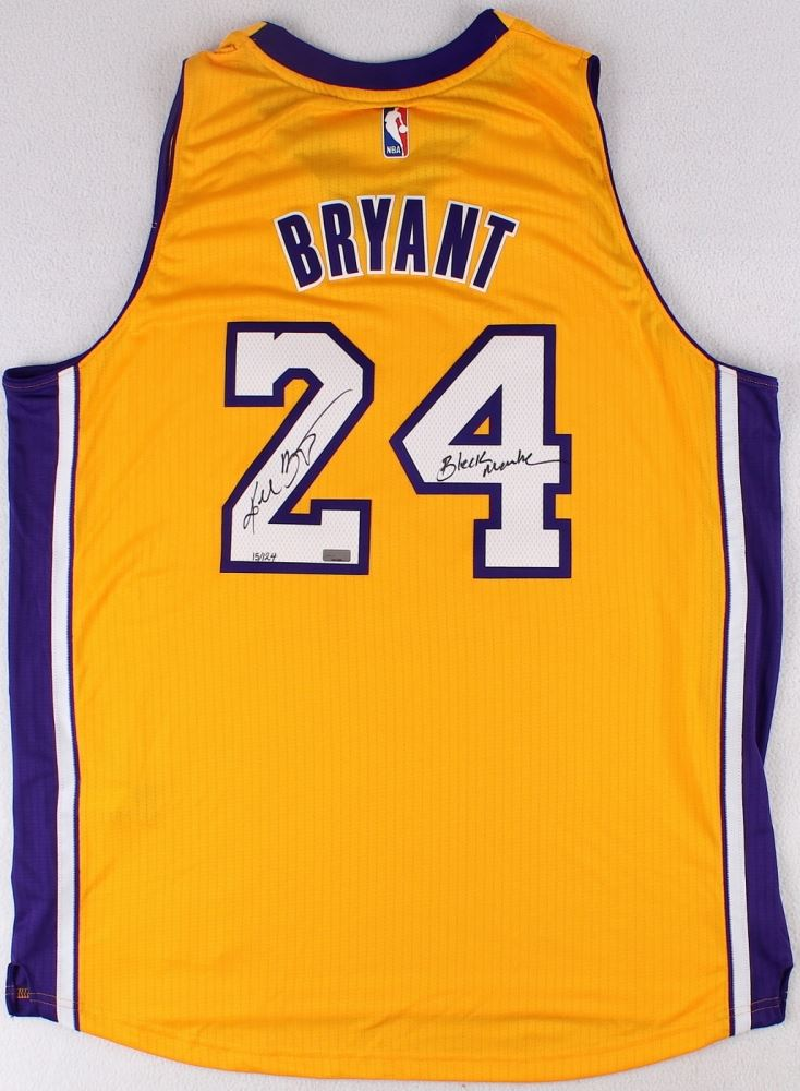 b34bc45b7 Image 1   Kobe Bryant Signed LE Lakers Authentic Adidas On-Court Jersey  Inscribed