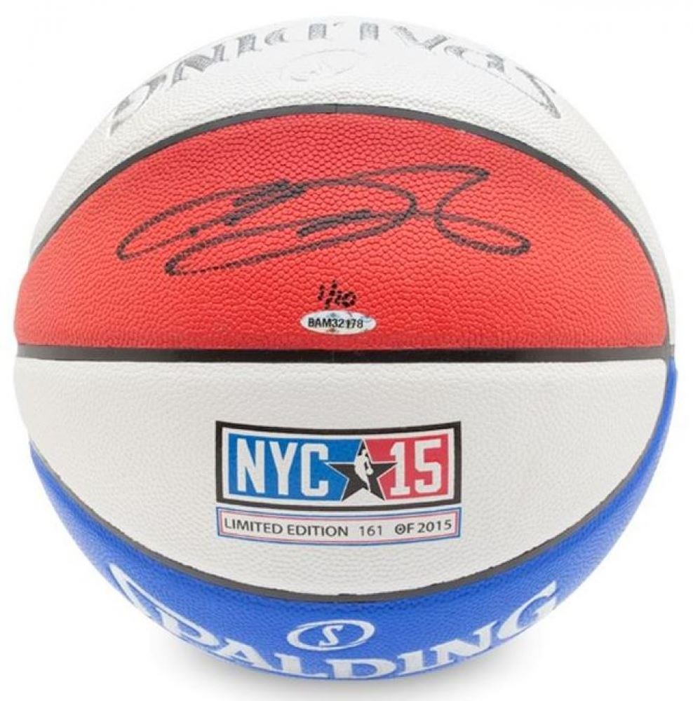 new product 77693 c1f0f Lebron James Signed LE Spalding 2015 All-Star Game ...