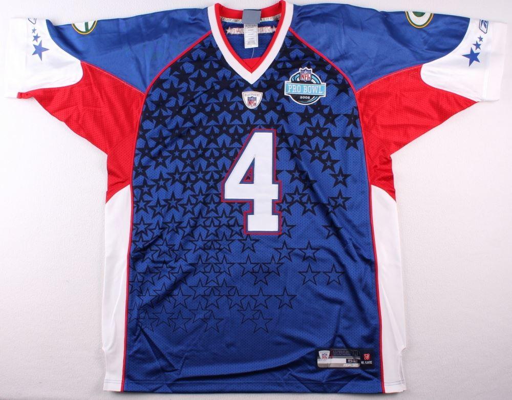 timeless design f10b6 cb4a0 Brett Favre Signed Pro Bowl Jersey Inscribed
