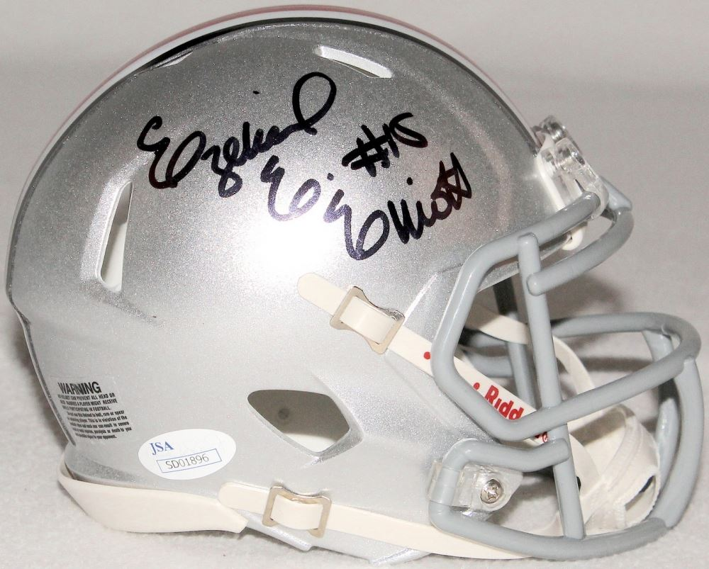 3fe8261769c Image 1 : Ezekiel Elliott Signed Ohio State Mini-Helmet (JSA COA) ...