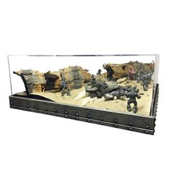 Halo 3 Believe Campaign Diorama Sections Large Display